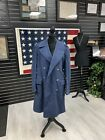 -Vtg 1951 USAF Air Force Heavy Wool Enlisted Overcoat 37 R, Free Shipping