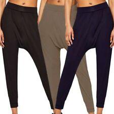 Pantalons sarouels noirs pour femme