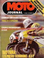 MOTO JOURNAL  306 KAWASAKI Z1000 GG HONDA JAPAUTO CB 750 Four 125 DAYTONA 1977
