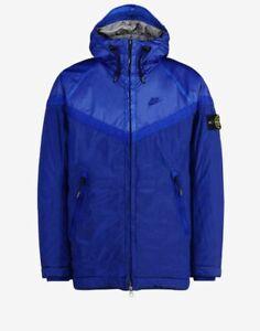 """Nike NikeLab x Stone Island Nylon Windrunner Jacket """"Hyper Blue"""" Size (XL)"""