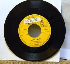 JAY MARTIN AT THE HAMMOND ORGAN RUSTIC DANCE 45 RPM RECORD
