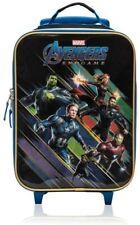 Marvel Avengers End Game Soft Side Trolley Luggage Case for Kids-16 Inch [Black]