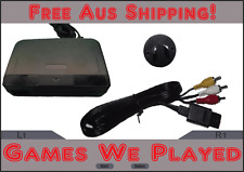Nintendo 64 N64 Power Supply and AV Cables Brand New Aftermarket AUS Plug.