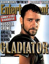 Entertainment Weekly - Russell Crowe - Gladiator Cover - Blair Witch 2000
