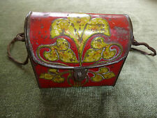 Genuine EARLY Macfarlane Lang Biscuit Handbag Shaped Art Nouveau Tin Confection