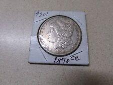 1878 CC DOLLAR COIN MARKED XF40-45 FOUND IN STORAGE