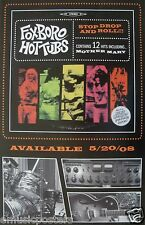 "FOXBORO HOT TUBS ""STOP DROP AND ROLL"" U.S. PROMO POSTER - Green Day, Prima Donna"