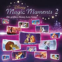 DISNEY MAGIC MOMENTS 2 - GRÖßTE DISNEY LOVE SONGS (SOUNDTRACK)  CD NEU