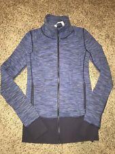 *EUC* Lululemon In Stride Jacket Sz 4 Purple Zip Up Stripe