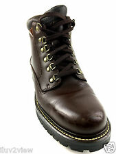 Timberland Brown  all Leather Hiking Boots Size 10 US.