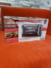 Black + Decker Natural Convection, 4-Slice Toaster Oven T01750SB