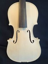 UNFINISHED WHITE VIOLIN PROJECT, EUROPEAN TONEWOOD, HAND MADE, 4/4 FULL SIZE!
