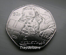 MONETA Isola di Man Natale 2011 50P Coin-Babbo Natale
