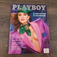 Vtg Playboy Magazine April 1987 Anna Clark Rae Dawn Chong