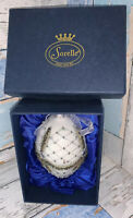 Sorelle Lovely Handcrafted Large Embellished Decorative Egg Christmas Ornament