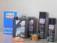 Sistema de mantenimiento DERBI MULHACEN 125 Filtro de aceite bujía Inspección