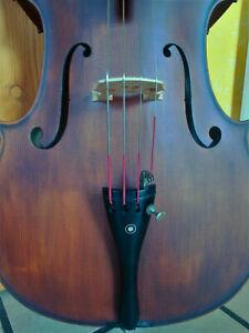 "°° 3/4 - Cello n. ""J. GUARNERIUS CREMONAE 1735"" m. Bogen in Hülle °°"