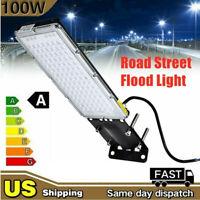 100W LED Street Light Flood Light Outdoor Yard Industrial Module Lamp IP65 USA