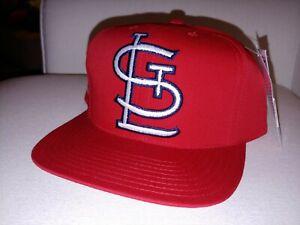 Vintage MLB St. Louis Cardinals Snapback Hat Logo 7 New with Tags baseball 1980s