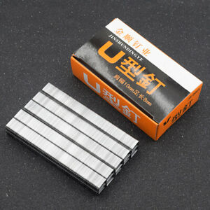 U/Door/T Shaped Staples 1008F Nails For Upholstery Hand Nailer Stapler Tacker 1