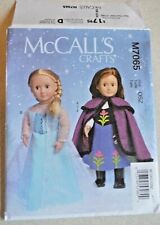McCall's SEWING PATTERN 18 inch Dolls Clothes  -  M7065-OSZ