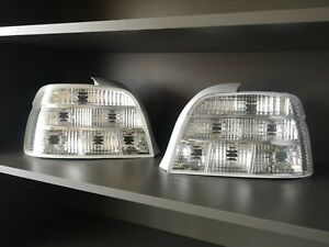 BMW E39 5 series M5 crystal clear white tail lights InPro MHW tailights