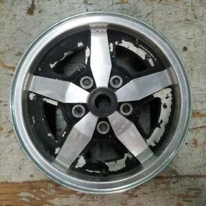 15'' BLACK JENSEN INTERCEPTOR 1971-1973 OEM Factory Original Alloy Wheel Rim