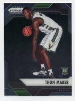 2016-17 Panini Prizm THON MAKER Rookie Card RC #14 Milwaukee Bucks PROSPECT