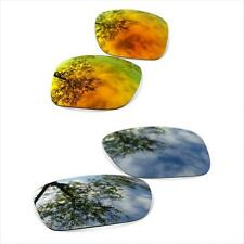 Lentes SURE de Recambio para Oakley Scalpel Black Iridium + Fire Iridium
