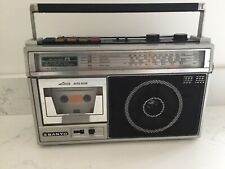 Sanyo M Z52l Ghettoblaster Boombox Retro Vintage 80s Working Radio