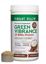 Vibrant Health Green Vibrance Chocolate Coconut Version 16.0 375 grams 13.23 oz