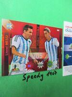 Copa America Chile 2015 Double Trouble Messi Di Maria  Argentina Adrenalyn