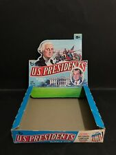 TRADING CARD RARE BOX U.S PRESIDENTS, NIXON COVER BY TOPPS 1960's