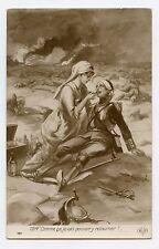 WW1. Jack Abeillé . Patriotique . Croix rouge. Infirmière . Red cross. Nurse