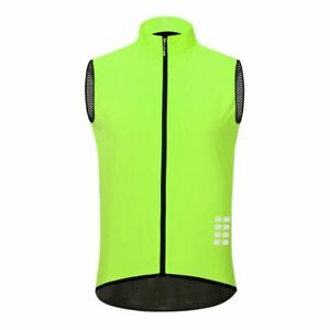 Sleeveless Jersey Reflective Cycling Vest Windproof MTB Road Bike Bicycle Cycle