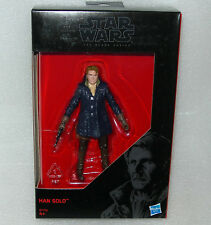 """Hasbro B7759 Star Wars The Black Series Han Solo With Jacket 3.75"""" Figure Boxed"""