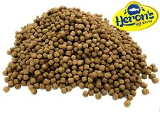 HERONS Premium Wheatgerm Pellets 6mm KOI POND FISH FOOD GOLDFISH CARP WINTER
