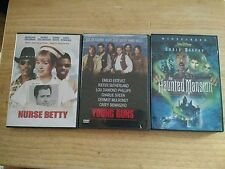 DVD's The Haunted Mansion, Young Guns and Nurse Betty
