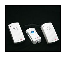 TWIN WIRELESS DOOR BELL CORDLESS MAIN PLUG IN DOORBELL CHIME 29 POLY SOUNDS R60