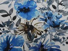 Chivasso tissu «Flowers of Paradise» 1,8 m CH2721-050 à grande échelle Floral