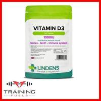 Lindens Vitamin D3 1000IU 120 Tablets Healthy Bones & Teeth