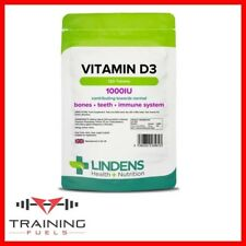 Lindens Vitamin D3 1000IU 120 Tablets Healthy Bones & Teeth