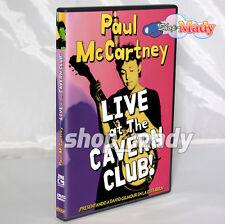 Paul Mccartney Live At The Cavern Club! Dvd Region 4 NTSC