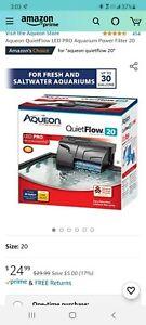 Aqueon Quiet Flow Aquarium Power Filter Tanks Up to 30 Gallon