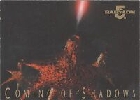 TC Babylon 5 1996 Premiere Series 2 Coming of Shadows card #2