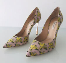 CASADEI PINK EMBROIDERED BEE SHOES MADE IN ITALY SIZE 4.5 UK / 37.5 EU NEW