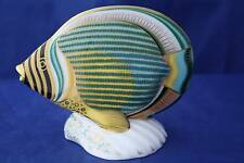 ROYAL CROWN DERBY PINSTRIPE FISH LTD. ED. PAPERWEIGHT MMVI - BOXED