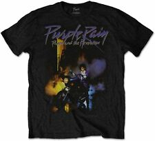 PRINCE AND THE REVOLUTION Purple Rain T-SHIRT OFFICIAL MERCHANDISE