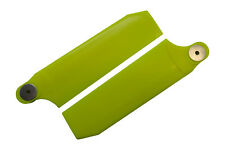 KBDD Neon Yellow 112mm Extreme Tail Rotor Blades Trex 800 Goblin 700 770 #4086