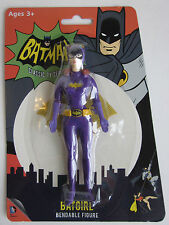 BATGIRL Bendable Posable Super Hero Batman Robin toy Action figure BENDY NEW
